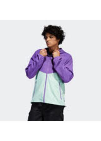 Adidas Jacke Dekum Packable Jacket active purple