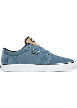 Etnies Skateschuh Barge LS blue/white